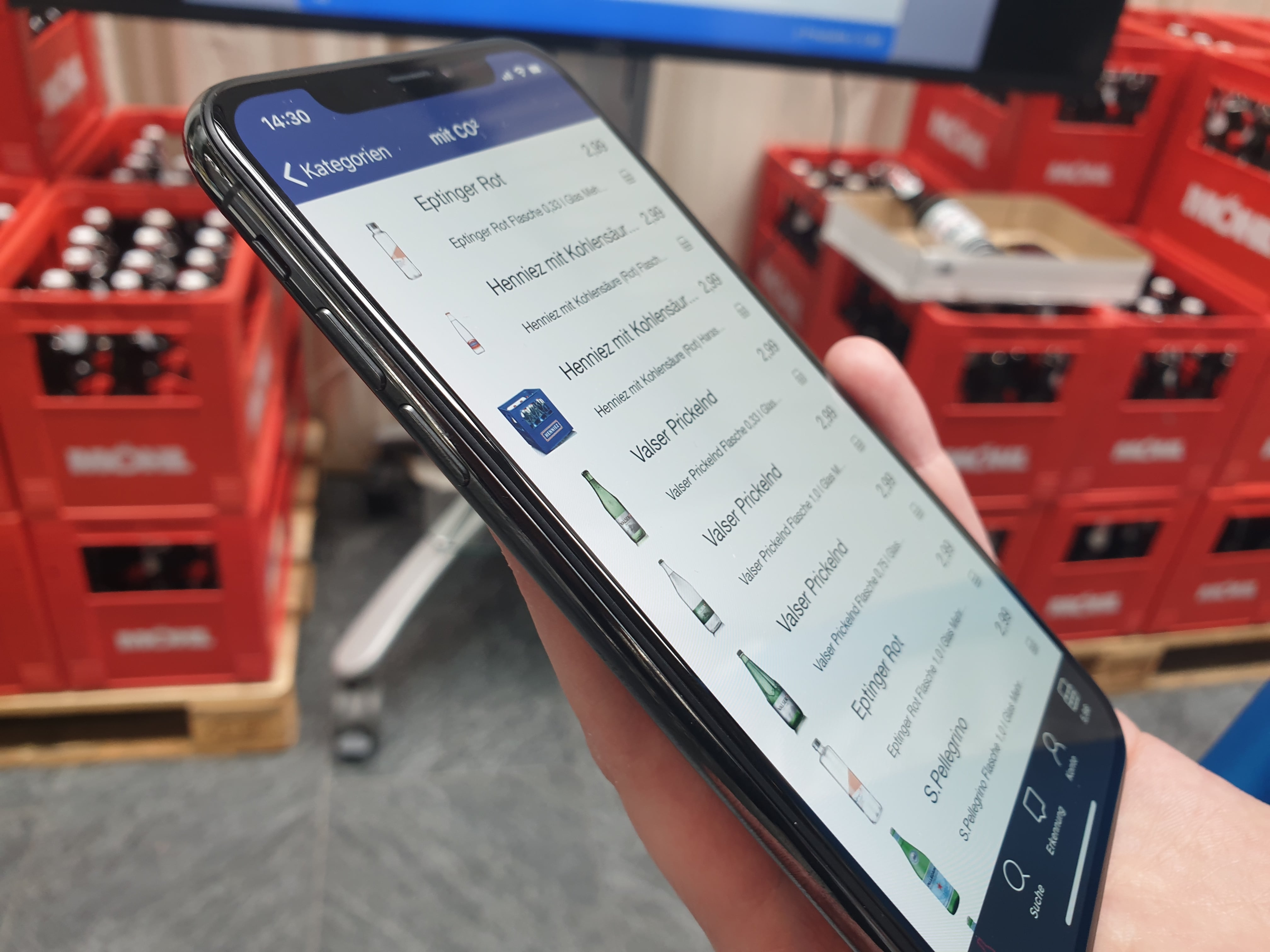 Die neue Online-Bestell-App