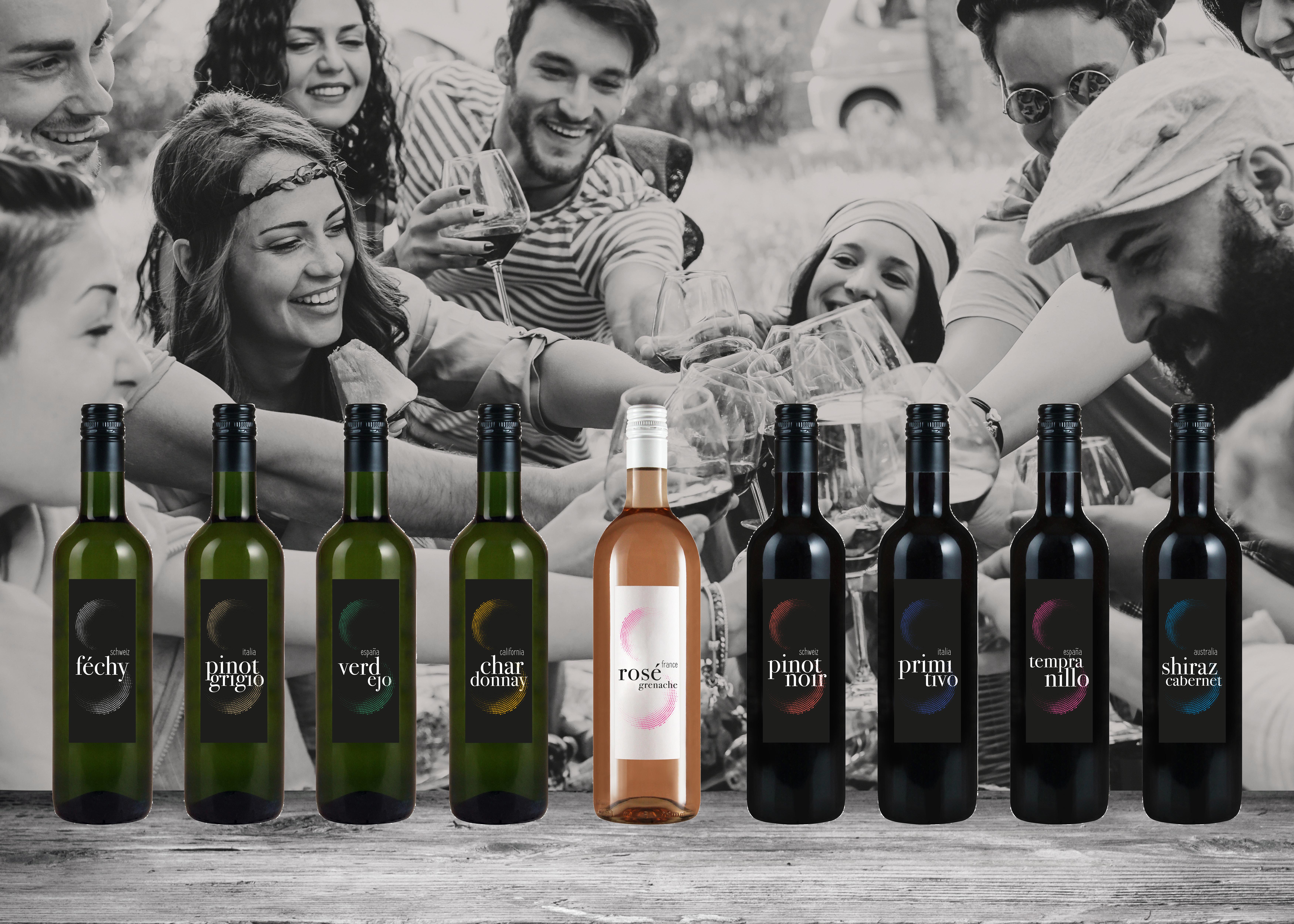 Marchio proprio: vino SwissDrink